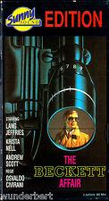 """VHS - """" The Beckett AFFAIR ( Die Beckett Affäre ) """" (1966) - Lang Jeffries"""