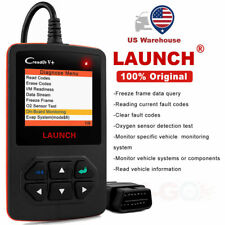 LAUNCH OBD2 Auto Engine Check Diagnostic Fault Code Scanner Scan Tool Creader V+