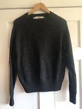 John Deere Vintage Gray Wool Sweater Mens Small
