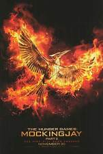 """Hunger Games :Mockingjay pART 2 Advance A Two Sided 27""""x40' inch Movie Poster"""