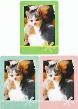 Playing cards swap card  cats