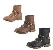 Markenlose Schuhe im Stiefel & Boots-Stil mit Reißverschluss für Mädchen