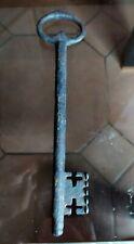 22,2cm  grande clé clef ancienne en fer forgé Eglise Chateau ...