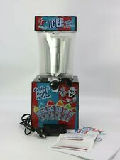 Genuine Iscream Icee Slushie Making Machine Counter Top Table Party Home Use