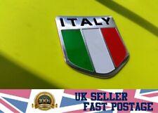 ITALY Car 3D GB UK Flag Union Jack Shield Emblem Badge Decals Decor Sticker