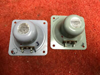 Lovely pair 60s 70s GOODMANS tweeters tested good, ideal Maxim, 3 ohm (259806)