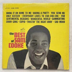 SAM COOKE The Best of Sam Cooke LP soul RARE 1964 pressing in shrink VG+/VG+