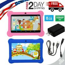 7 Inch Gaming Tablet PC Android Quad Core Dual Camera Wifi Gifts For Kids Study