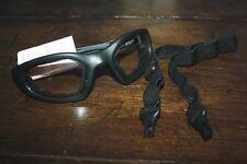 Peltor Enhanced Maxim 2x2 Safety Goggles ASO Z87 Black Frame w/Interchange Strap