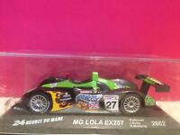 SUPERBE MG LOLA EX257 24h du MANS 2002 EN BOITE 1/43 O3