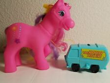 Set of 2 Toys, Pink My Little Pony and the Mystery Machine Scooby Doo Van