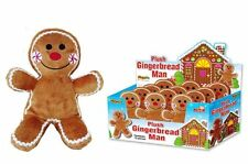 Cute Childrens Kids Plush Gingerbread Man Soft Toy 21cm Festive Easter Gift