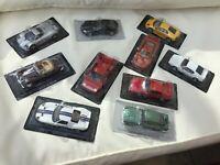 Model road cars Ford GT40 Aston Martin Lotus Pagani Saleen Jaguar or Lamborghini
