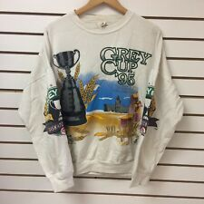 Vintage Saskatchewan Roughriders Grey Cup Taylor Field Crewneck Sweatshirt Sz L
