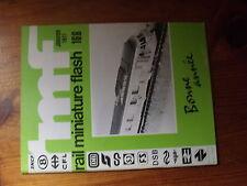 $$2 Revue RMF N°166 Construction abri de quoi HO  030-TB laiton  Tracer plan