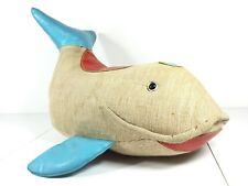 Vintage 70s XXL WHALE Therapeutic Toy Renate Müller MoMA Mid Century  Muller 60s