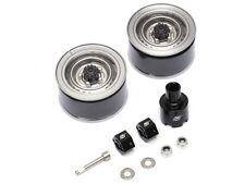 Boom Racing 1.55 Yota LC70 Steelie Beadlock Wheels Rear Gun Metal BRW780908RGM