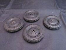 Lot of 4 Vintage Hubley 5.00 x16 Black Tires For Parts