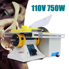 750W Electric Mini Table Saw Blade Woodworking Cutting Polishing Carving Machine