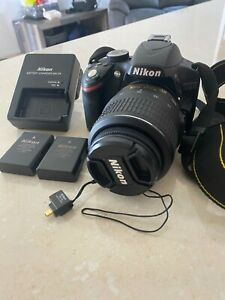 Nikon D3200 Digital SLR Camera 18-55mm VR Lens Kit