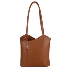 Rucksack Hand Tasche Shopper Italy Echt Leder Trage Tasche Schulter Backpack NEU