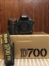 Nikon D700 FX format 12.1MP DSLR Camera - Body