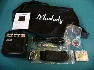 Guitar Amplifier (Battery/Mains) + Gig-bag + Lead + Strap + Bits; New Amp