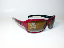 Vuarnet Sunglasses VL/1232 CX4400 CONTRAST LENS BURGUNDY BLACK SPORTS WRAP *NEW*