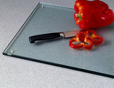 Vance 15 X 12 Clear Elite Tempered Glass Cutting Board | 8G1512DC