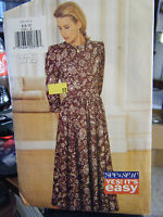 Vintage Butterick See & Sew Misses Dress Pattern - Sizes 6 & 8