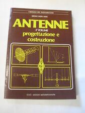 NERI N.  ANTENNE VOLUME II  ED.C&C 1986