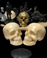 Dekofigur Totenkopf Totenschädel Totenkopf-Figur Schädel Skull Gothic Fantasy