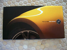 NISSAN OFFICIAL 370 Z INTRODUCTORY PRESS SALES BROCHURE 2009 USA EDITION