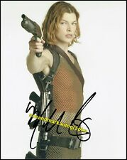 Milla Jovovich Alice Resident Evil Umbrella Corporation Signed Autograph UACC RD