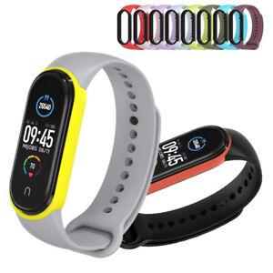 For Xiaomi Mi Band 5 TPU Sports Wrist Band Bracelet Smart Watch Band Straps