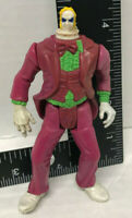 """Beetlejuice Action Figure 1998 rare figure with a reduced head 4"""" Used"""