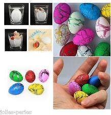 JP 10PCs Cute Magic Growing Dino Egg Hatching Dinosaur Add Water Eggs Child Toy