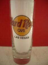 HRC Hard Rock Cafe Las Vegas Classic Logo Black Letter Shotglass Schnapsglas New