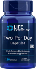 Life Extension Two-Per-Day (Multivitamin) 120 Capsules