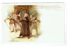 OLD CHROMO LITHO POSTCARD MERRY WIVES OF WINDSOR TUCKS SHAKESPEARE SERIES NO.470
