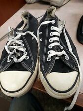 New listing vintage converse chuck taylor made in usa Men's 9 1/2 womens 11 1/2 Black