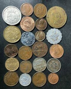 Old Africa Coin Lot - 1936-Present - 22 Excellent Coins - Lot #J11