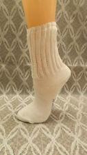 3 pr Vtg 60's Crotchet Top Combed Cotton Bobby Socks sz 7 NOS School Girl Lot