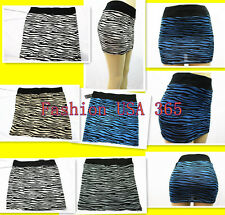 New Women Leopard Pattern Hot Clubbing Skirt Mini Short Skirt (Ship in U.S)