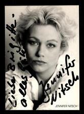 Jennifer Nitsch Autogrammkarte Original Signiert # BC 100987