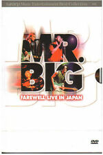 MR. BIG / Farewell Live in Japan (2002) DVD *NEW