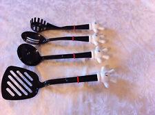 Disney Kitchen Utensils, set 4, Mickey Mouse Hands Strainer Spoon Ladle Spatula