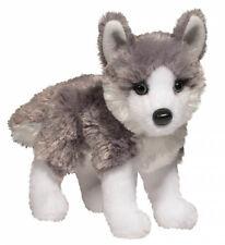 New DOUGLAS TOY Stuffed Plush SIBRIAN HUSKY DOG Soft Animal Puppy