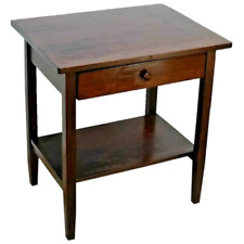 Antique Library Table Mahogany writing desk hand made by Milford Furniture