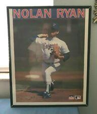 NOLAN RYAN #34 TEXAS RANGERS 1990 Starline Framed Poster 16 x 20
